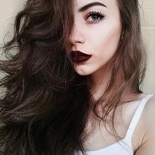 Piękne włosy i makijaż ;)