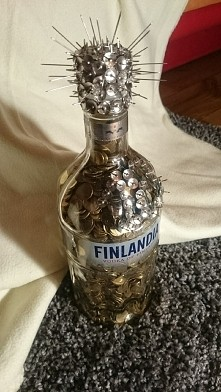 Alkohol w wersji 1 groszowej.   Prezent na 18 naste urodziny.