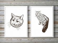 zestaw obrazków. koty (form...
