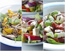 10 przepisów na smaczne i pożywne sałatki