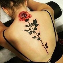 Tatuaż - róża