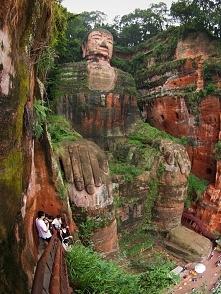 Wielki Budda z Leshan, Chiny.