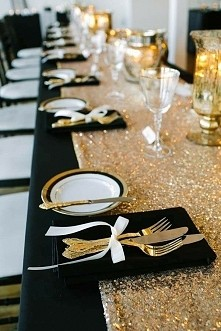 czerń i złoto ❤
