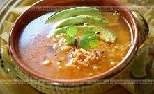 Zupa ryżowa z kurczaka