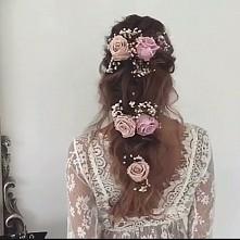 fryzura ślubna - Ulyana Aster - link do filmu w komentarzu