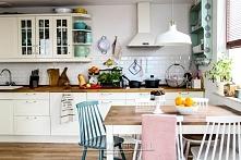 Odsłona kolorowej kuchni :) Na blogu rozmawiamy też o organizacji kuchennych ...