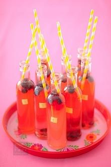 lemoniada jagodowa, przepis...