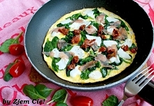 Najlepszy omlet ze szpinakiem, jaki jadłam:)