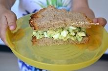 kanapka + awokado z ogórkiem