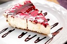 Fit ciasto malinowe bez cukru  1 kawałek ma tylko 65 kcal!  przepis po kliknięciu w obrazek :)