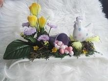 Świąteczny stroik i wiele innych dekoracji Wielkanocnych dostępnych na allegro :D