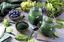 zielony Koktajl ze spirulin...