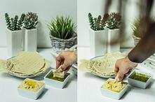 Przepis na pyszne packi chlebowe  robione na patelni, bez drożdży.