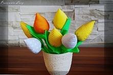 tulipany 29 cm od Pracowni Lucy