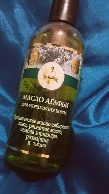 Wzmacniający olejek do włos...