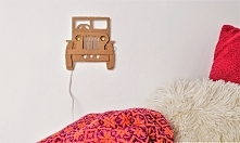 Lampka-samochód 3D DIY Link...