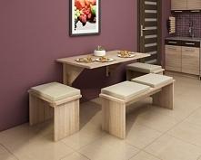 Stół mocowany do ściany.  Link po kliknięciu w zdjęcie.