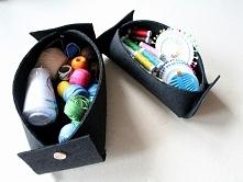 Organizer z filcu DIY - zapraszamy po instrukcje!