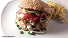 Domowe hamburgery w bułce p...