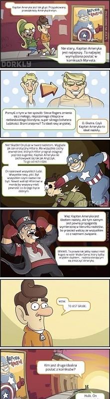 Nie lubię Kapitana Ameryki ...