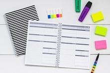 Notes lub kalendarz to rzecz, którą zawsze mam przy sobie. Lubię mieć wszystko zaplanowane, aby przypadkiem o czymś nie zapomnieć.