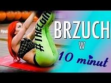 Domowy super trening brzucha - tylko 10 minut !