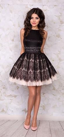 Koronkowa śliczność  sukienkowo