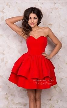 SHANNON- sukienkowo czerwona piękność