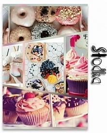 Jestem... Słodka? Tak, na pewno po spożyciu tylu słodyczy mój poziom cukru przekracza normę!:D W dodatku lubię próbować własnych sił w kuchni i uszczęśliwiać moich znajomych tak...