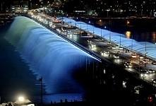 Banpo Rainbow Bridge, Seoul