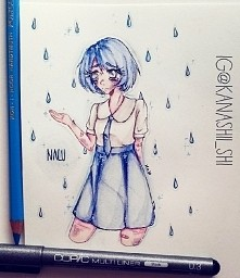 mój mały rysunekecz Nalu - prześlicznej ocki należącej do pewnej artistki i u...