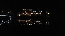 #foto #nadjeziorem #widok #noc #światła
