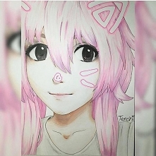 fanart for a cosplayer from instagram @aishineey , this art by marietenshi
