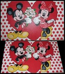 Myszka Miki i Minnie, ręczn...