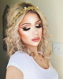 Wiosenny makeup
