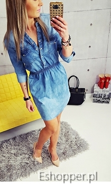 Nasz bestseller sukienka jeansowa:)