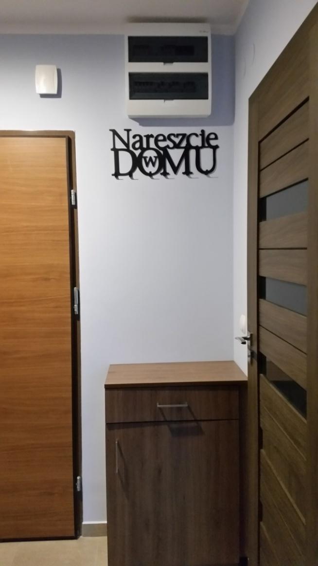 Wieszak na ubrania Nareszcie w domu -art-steel.pl