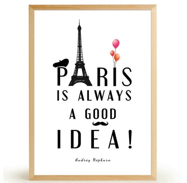 Plakat PARIS