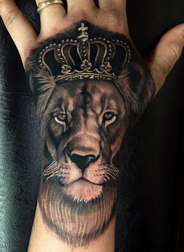 Tatuaż Król Lew Na Tatuaże Zszywkapl