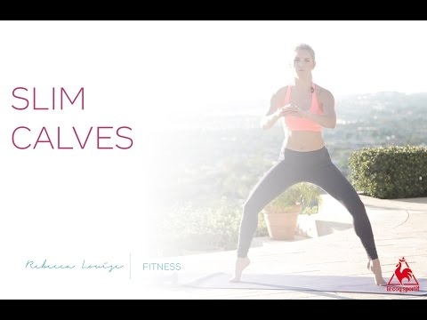 How to Get Slim Calves | Rebecca Louise