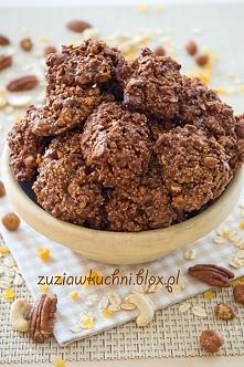 Makaroniki czekoladowo - kajmakowe