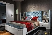 Stylowe łóżko Borromini