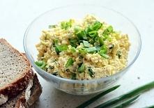 Pasta jajeczna Składniki:  jajka - 5 sztuk majonez - 1 łyżka musztarda delika...