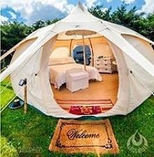 elegancki namiot