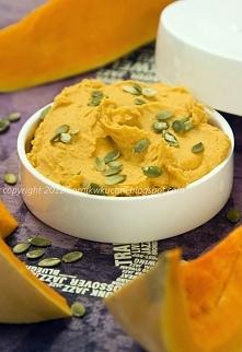 Hummus z pieczonej dyni