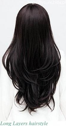 idealne włosy...