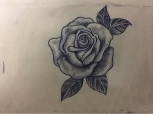 róża-sztuczna skóra