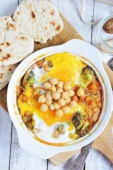 jajka, ciecierzyca i brokuły <3