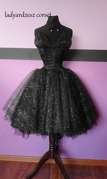 sukienka tiulowa moje dzieło
