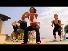 Mel B - 10 minutowy trening nóg Ciężkie, ale daje efekty :)